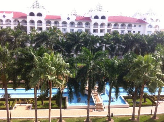 ClubHotel RIU Jalisco: View from the balcony of our room