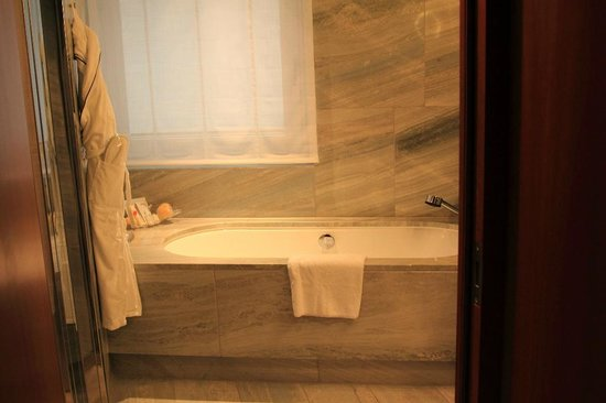 Grand Hyatt Berlin: Tub
