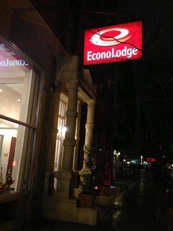 Econo Lodge Times Square: ingresso
