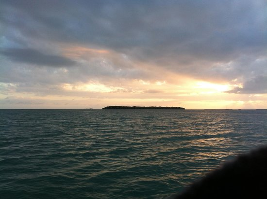 Key West Eco Tours: Sunset around Mule Island