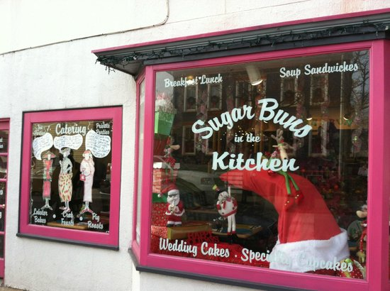 Sugarbuns in the Kitchen: The storefront