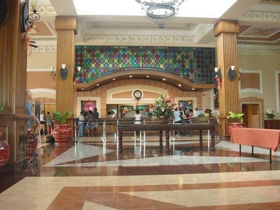 Hotel Riu Montego Bay: Lobby, check-in desk