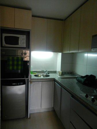 Trani Hotel Providencia: cocina