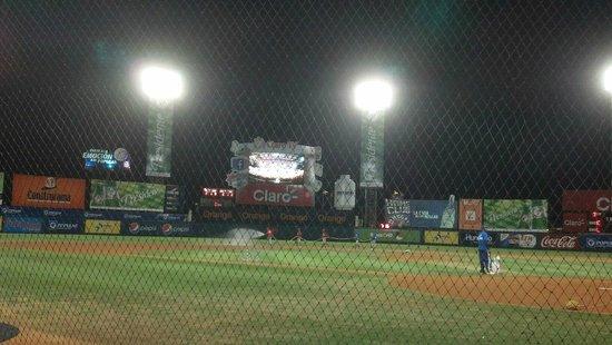 Quisqueya Stadium: The beautiful Estadio Quisqueya.
