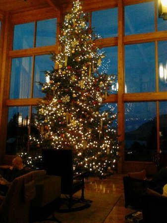 Skamania Lodge: Main common area