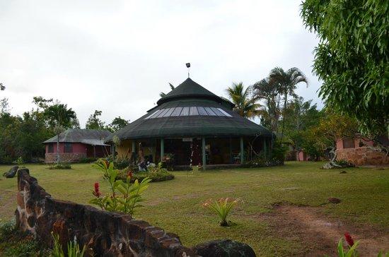 Campamento Ecologico Ya-koo : Struttura principale - Hall + Ristorante