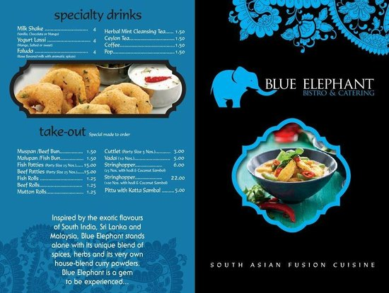 Blue Elephant Bistro & Catering: Best in Town