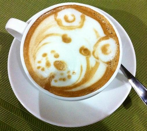 Bistro Bon Appetit: bear coffee