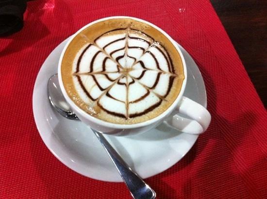 Bistro Bon Appetit: spider web mochaccino