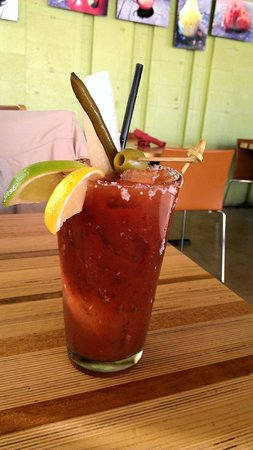 Gallo Blanco Cafe: Saturday morning Bloody Mary