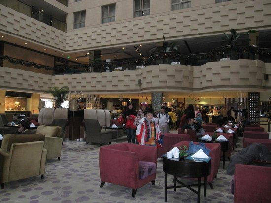 Crowne Plaza Beijing Wangfujing: Note : Interior facing rooms facing the lounge area