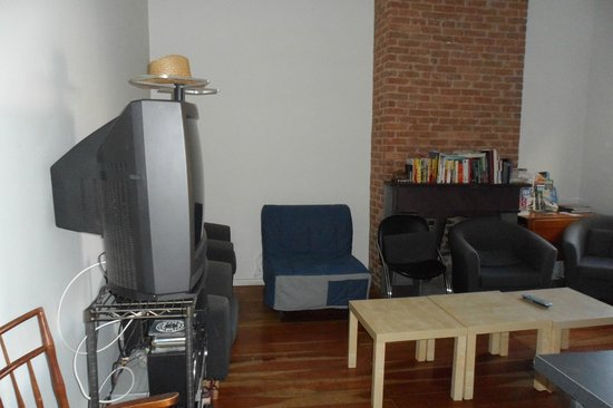 Michael: Lounge area