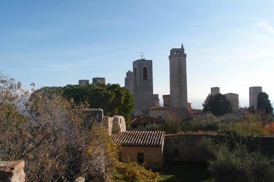 Rocca of Montestaffoli: The towers of S.G.