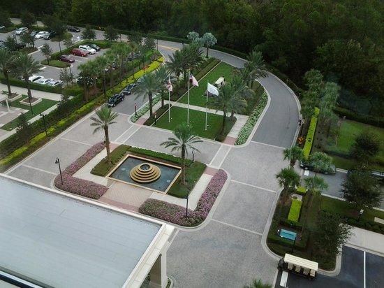 Waldorf Astoria Orlando: Vista de la habitacion