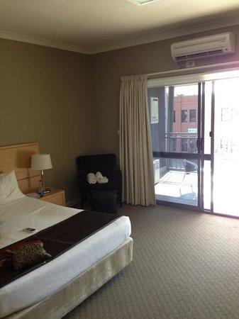 Centrepoint Apartments Griffith: Studio bedroom