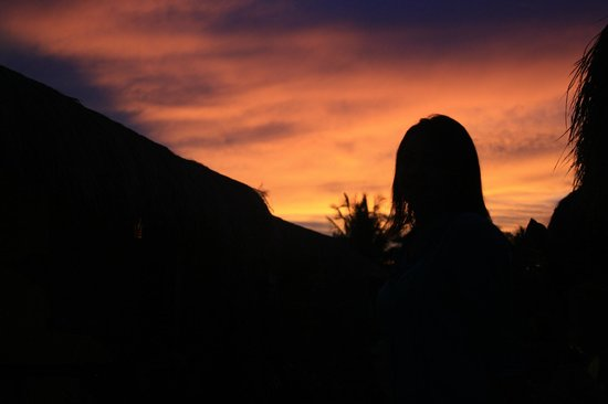 Gili Trawangan: Sunset in Gili T