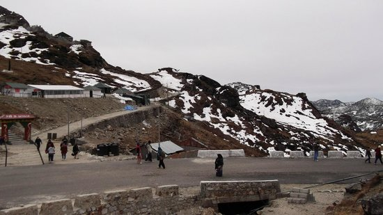 Nathula Pass: A long shot of Nathula