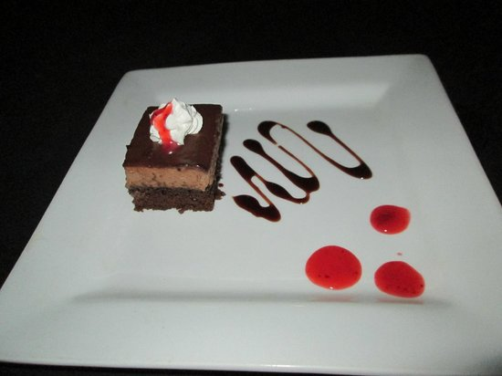 Sandals Regency La Toc Golf Resort and Spa: Chocolate Mousse