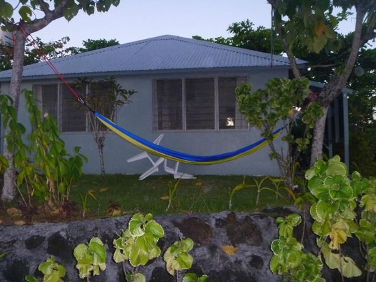 Savaii Lagoon Resort: Our beach hut