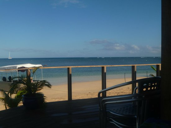 Savaii Lagoon Resort: View from Bar and restuarant