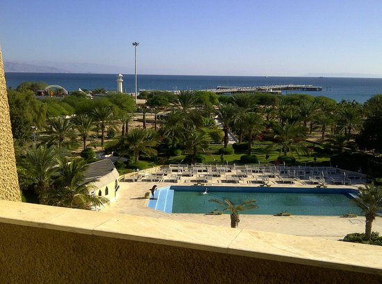 Shayan International Hotel: balkon middag