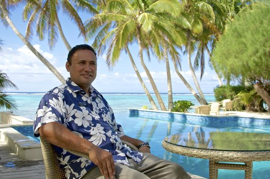 Little Polynesian Resort : Sam Napa the GM
