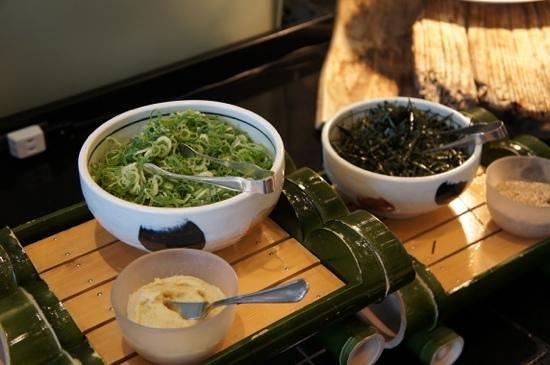 SantaMonicanokaze: tout pour agrémenter la soupe miso