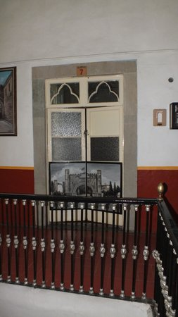 Hotel Posada de la Condesa: My room's door