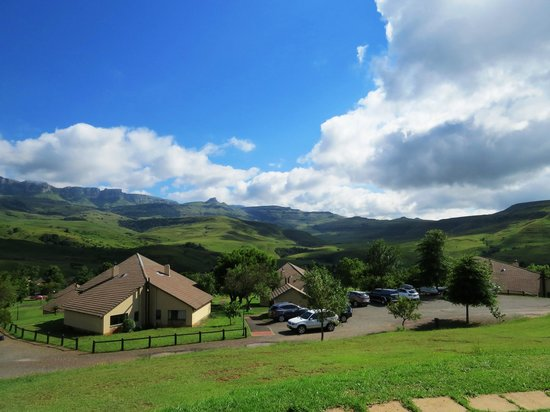 Alpine Heath Resort: View from our shale