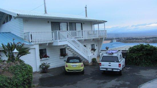 Belle Vue: Wohnungen oben an der Straße