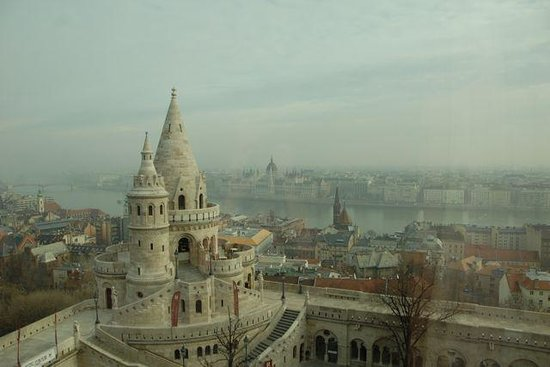Hilton Budapest: View of Budapest from our room