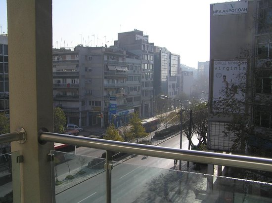 Anatolia Hotel: view from third floor room