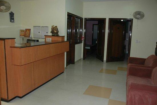 Hotel D R International: Reception