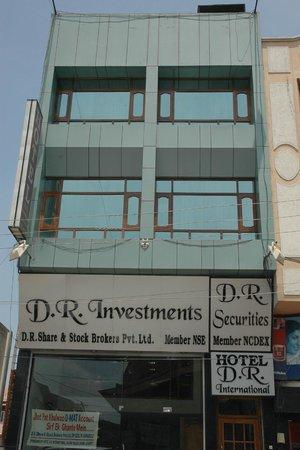 Hotel D R International: Front Elevation