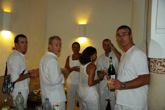 Riad Rafaele : aperitif