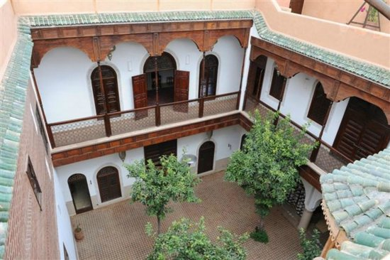 Riad Rafaele : vue de la terrasse