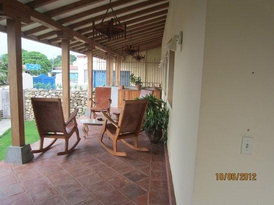 Hotel Casa de Campo Pedasi: Terrace