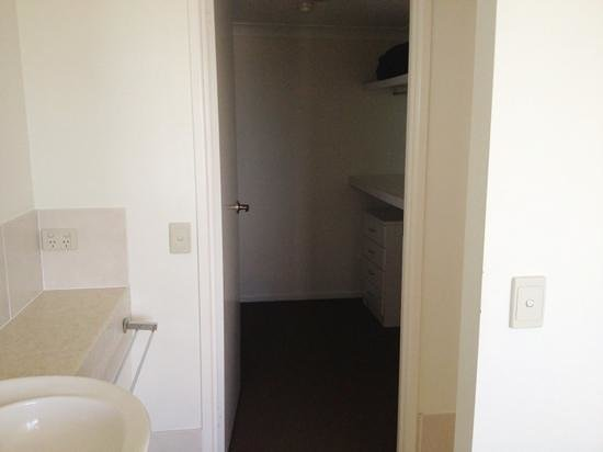 Osprey Apartments: Apt 56, large walk-in wardrobe off ensuite bathroom (main bedroom).