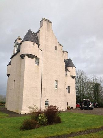 Barcaldine Castle: the castle