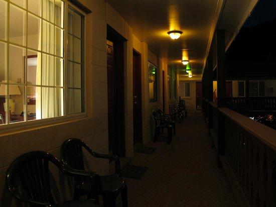 Ouray Chalet Inn : the corridor