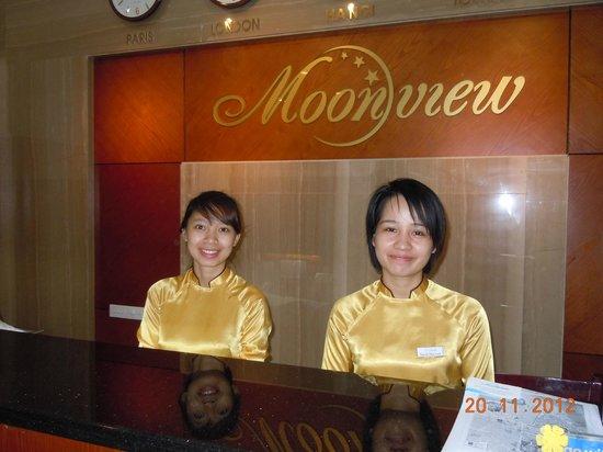 Moon View Hotel: Friendly Staff