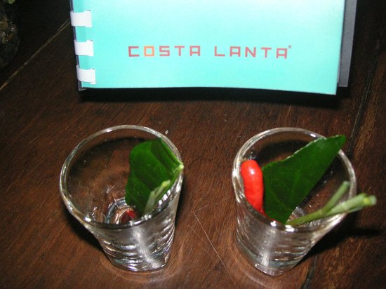 Costa Lanta: chili infused gin