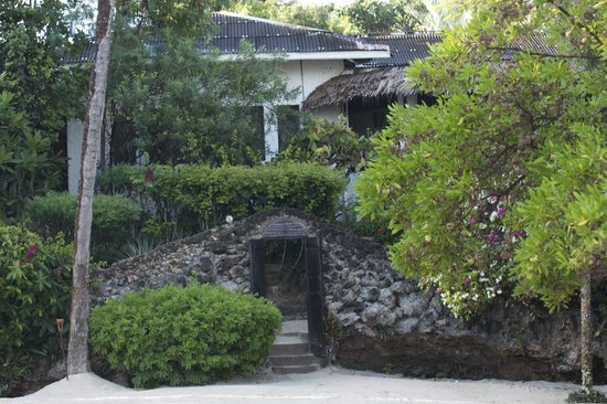 Dorado Cottage: vista del villaggio dalla spiaggia