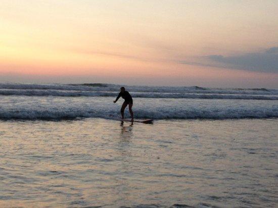 Del Mar Surf Camp: En práctica