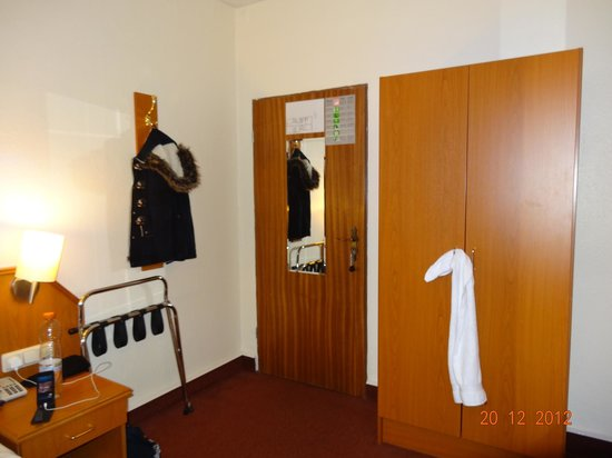 Hotel Residence am Hauptbahnhof: We had lots of space to put our stuff