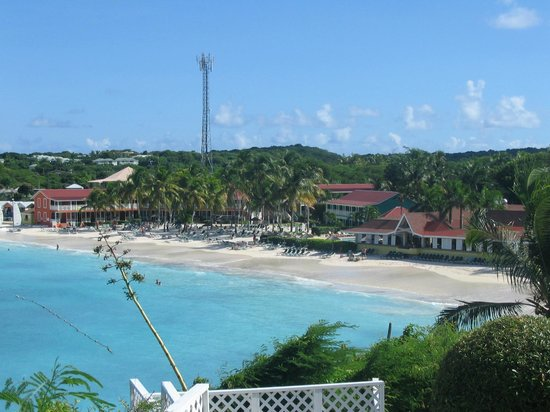 Pineapple Beach Club Antigua - All Inclusive: Resort from Outhouse Gazebo