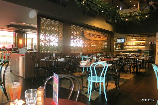 Bondi Pizza: Interior - ground floor