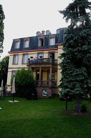 Hotel Le Manoir : Aussenansicht