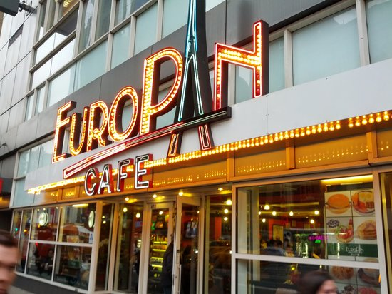 Europan Cafe New York City