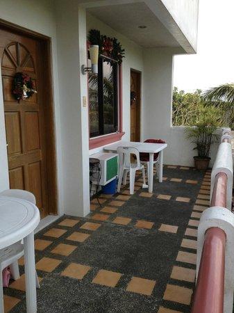 The Iruhin: Room Balcony